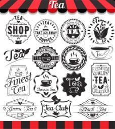 茶标签设计图片