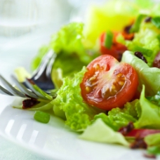 番茄生菜沙拉图片