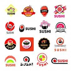 寿司美食标签