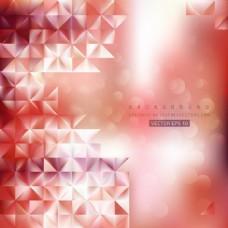 淡红色的背景插图