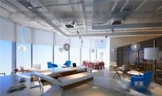 办公空间3d模型