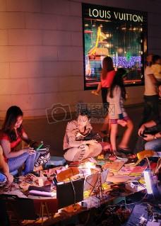 外面路易威登店@ Gaysorn广场#thailandsomuchfun.jpg