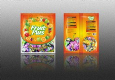 fruit plus水果糖包装