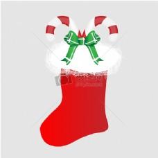 圣诞袜糖果手杖