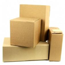 一堆纸箱子高清图片