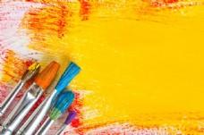 画笔与颜料