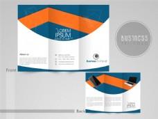 电子产品三折页设计图片
