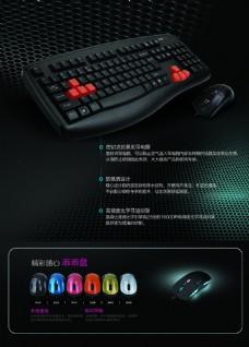 键盘鼠标广告