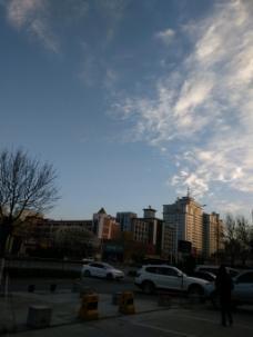 冬日的天空