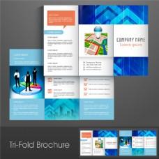 三折页设计模板素材图片
