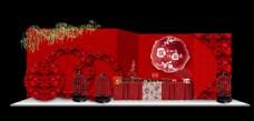 新中式婚礼展示区