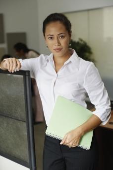 办公室的商务白领图片