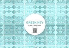 免费的希腊密钥向量模式