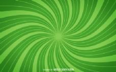 绿色的螺旋状的背景