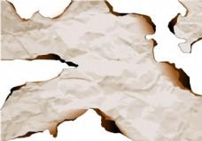 烧毁纸边缘矢量3