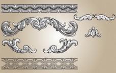 装饰形状与无缝图案