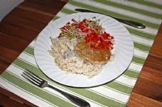 蔬菜,汉堡与 - 棕rice.jpg