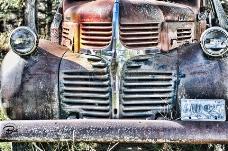 复古的老式汽车