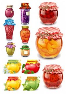 卡通水果罐头