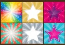 丰富多彩的星星背景