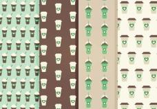 免费咖啡矢量模式