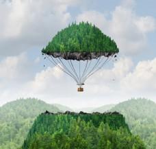 大山降落伞