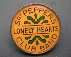 披头士乐队徽章