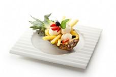 菠萝冰激凌盛宴图片