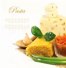 奶酪与意大利面图片