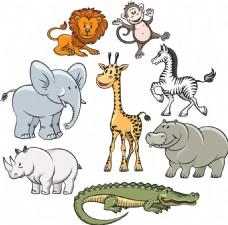大象等动物图片