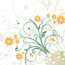 花卉设计背景