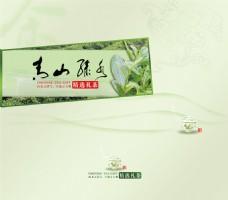 清爽茶叶包装封面图片