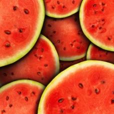 西瓜果肉背景图片