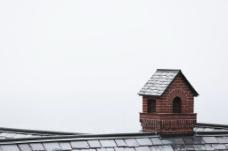 屋顶烟囱图片