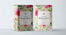 化妆品盒子包装样机