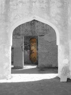 废墟,历史,Mtoni,宫