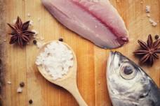 八角和海鱼图片
