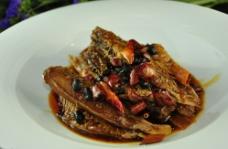 酱烧深海红鱼图片