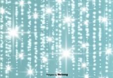 摘要发光的星星背景矢量