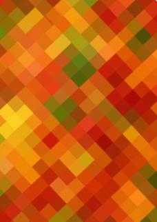 彩色方块背景图