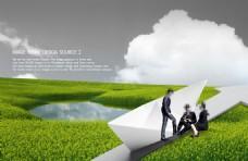 环保宣传模板图片