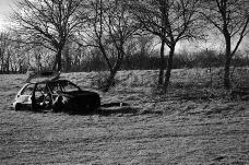 被遗弃的汽车