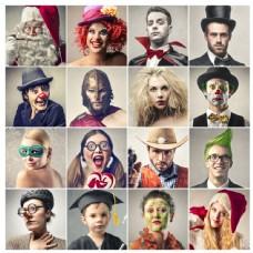 小丑人物图集图片