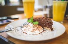 美食西餐蛋糕摄影图片