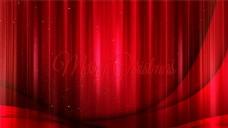 红色喜庆圣诞背景图片