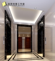 公共空间电梯厅设计