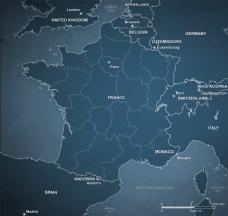 矢量地图设计