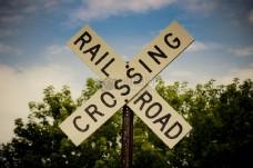 铁路道口的标志
