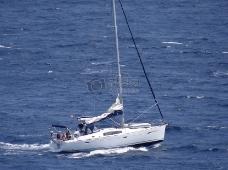 海面上的小船