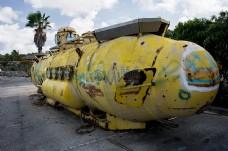 年久失修的潜艇